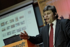Игорь Шаститко, презентация украинской Vista, май 2007