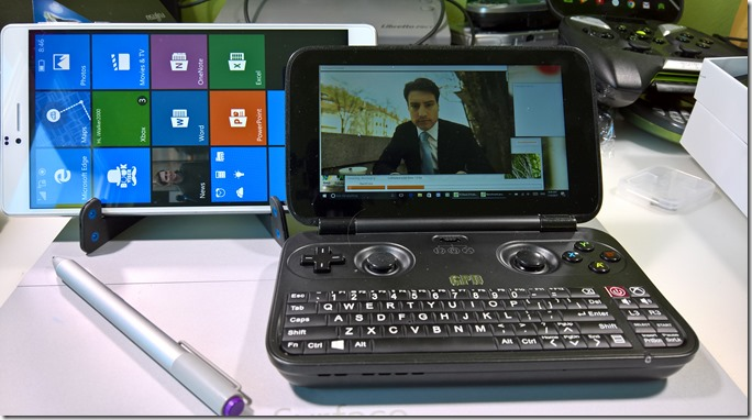 GPD Win & CUBE WP10 7inch Windows 10 Mobile phablet comparison