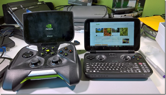 GPD Win & Nvidia Shield comparison